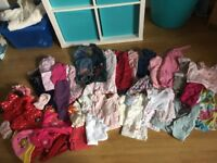 💜💗beautiful bundle of baby girls clothes, 6-9months 💗💜