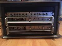 Crown Amp Rack