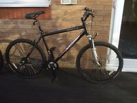 Mens Black Apollo XC26s Mountain Bike - Excellant Condition