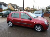 Renault clio 1.4, Only 19,000 Miles From New, Very Low Mileage Small Car, 5 Door Hatchback