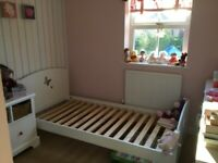 Children's 3ft bed (white)