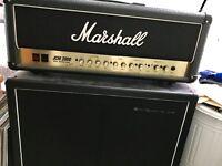 Marshall JCM2000 DSL100 & Harley Benton V30 2x12 cab