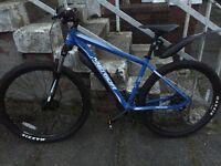 2 x Merida 2016 mountain bikes.