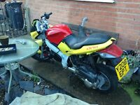 Gilera DNA 125 reg as 50 needs work