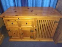 Chunky SIDEBOARD - solid wood