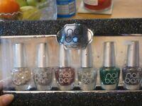 nail glitter polish x6 brand new