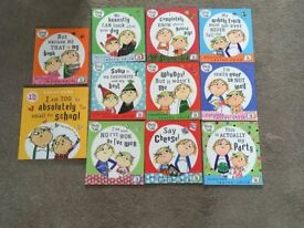 Collection of Charlie and Lola Books x11