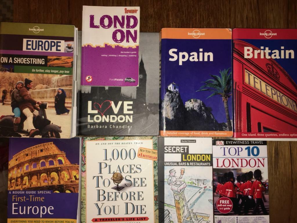 Books - collection of Travel & London books