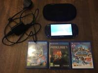 PS Vita Console Bundle (3 games)