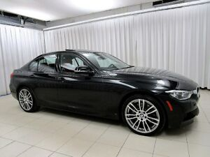 2017 BMW 3 Series 330i x-DRIVE M-SPORT w/ NAV, REAR CAMERA, MOON