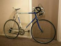 Large Vintage Road Bike, Retro Bicycle