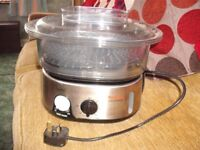 Tefal Electric Steam Cooker (never used)