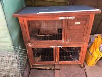 Rabbit/ Guinea-pig cage and run