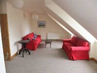 2 bedroom, fully furnished third floor flat to rent on Merchant Street, Old Town, Edinburgh