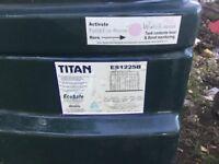 Titan bunded oil tank