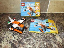 Lego 31028 - Creator 3-in-1 - sea plane and hover boats