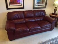 Leather Sofas for sale £125 for both!