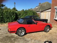 TVR 280s Fantastic Sports Car 1988 in great condition however engine requires some work !!