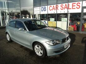 2007 07 BMW 1 SERIES 2.0 120I SE 5D 168 BHP **** GUARANTEED FINANCE **** PART EX WELCOME