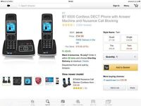 BT6500 cordless phone with Answermachine