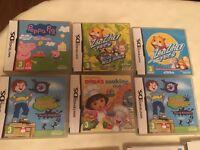 18 Various Nintendo DS games £3 each