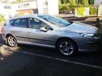 Peugeot 407 SW SE 2.0 HDI 136 SWAP WHY