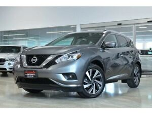2016 Nissan Murano PLATINUM NAV BACK UP CAMERA PANO ROOF