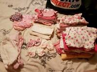 Tiny baby & first size baby girls clothes