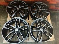 New RS 6 19 inch alloy wheels Audi RS6 style brand new 5x112