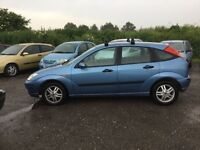 2003 FORD FOCUS 5 DOOR HATCHBACK IN NICE CONDITION IN AND OUT LOW MIKEAGE MOT ANY TRIAL WELCOME