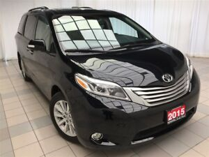 2015 Toyota Sienna Limited AWD | 1 Owner !