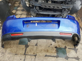Mazda 6 D TS MK2 2009 2.2 Diesel 5 door hatchback REAR bumper BLUE