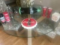 Cola shelf and Cola clock