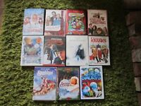 job lot of christmas dvd