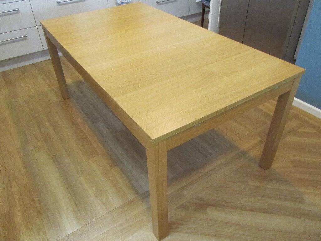 Ikea Ekedalen Dining Table In Oak In Looe Cornwall