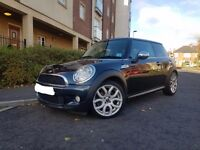 "MINI Cooper S 1.6 (56 plate) Chili Pack + 17"" Flame Alloys + Full Black Leather"
