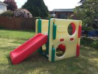 Little Tikes junior activity gym slide