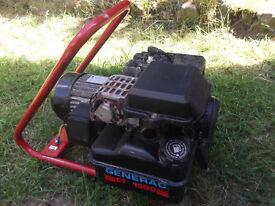 Generac ET1500 Petrol Generator.
