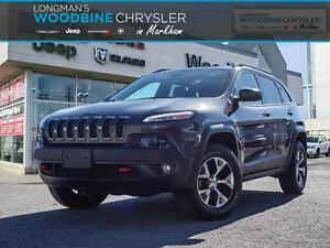 2016 Jeep Cherokee TRAILHAWK-NAVIGATION-LOW KMS!!!