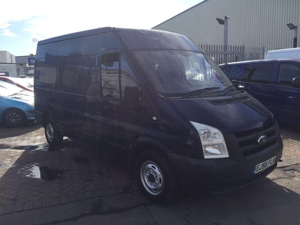 2006 56 REG FORD TRANSIT SWB EXTRA HIGH ROOF SUPERB DRIVE EX COMPANY VAN WELL MAINTAINED LONG MOT !!
