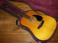 Fender F-03 dreadnought acoustic 1981 made in Japan