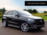 Mercedes-Benz M Class ML350 BLUETEC AMG LINE PREMIUM PLUS (black) 2015-03-11