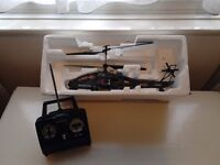 Unused Radio Controlled Model APACHE Helicopter - unwanted gift
