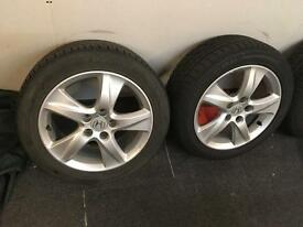 Honda alloy wheels