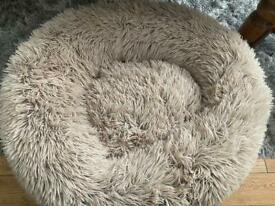 Barely Used - Bella and Toby Fluffy Dog Bed