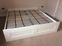Double Bed IKEA BRIMNES 180x200 cm