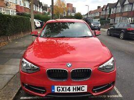 BMW 1 SERIES 2.0 116D sport SPORTS HATCH 2014 still under WARRANTY, JUST SERVICED, LOW MILLAGE
