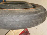 Yaris Space saver spare wheel