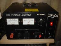 WATSON 30A POWER SUPPLY