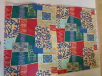 Unused Caravan Awning Curtains set of 8